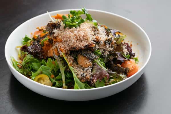 Salmon Skin Salad_002
