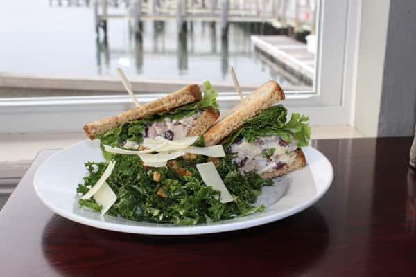 Cranberry & Walnut Chicken Salad