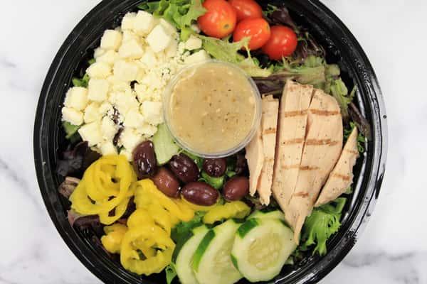 Individual Greek Salad Meal