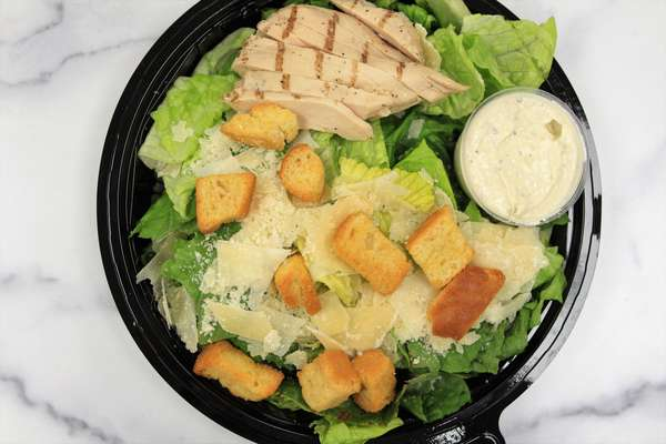 Individual Caesar Salad Meal