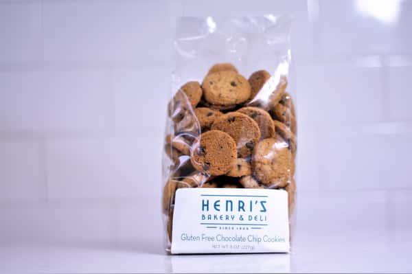 Mini Chocolate Chip Cookies *GF (8 oz.)