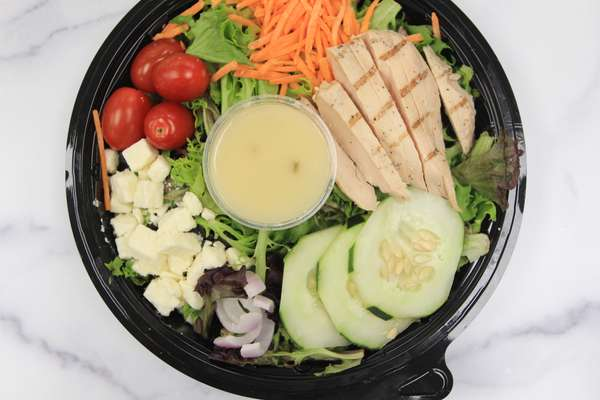 Individual Spring Salad Meal