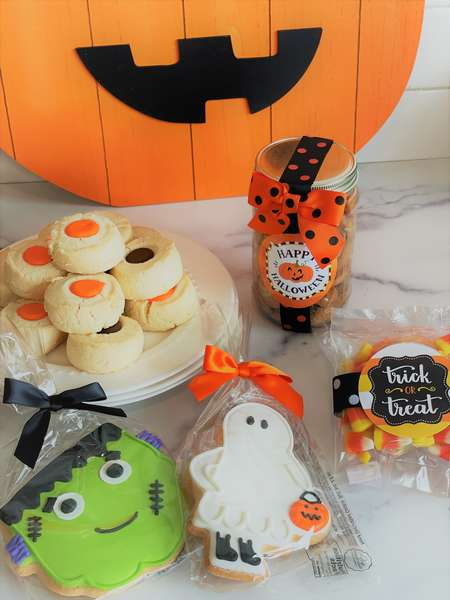 Halloween Cookie Gift Boxes