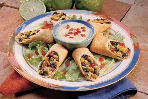 Southwest Chicken Eggrolls