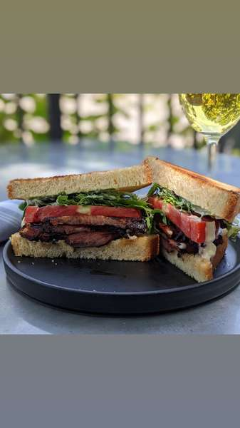 Pork Belly Bacon Lettuce & Tomato