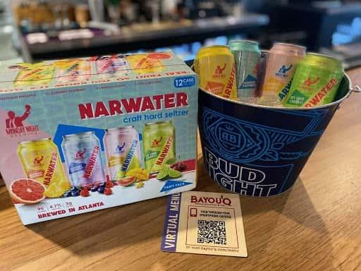 Monday Night Brewing Narwater Craft Hard Seltzer