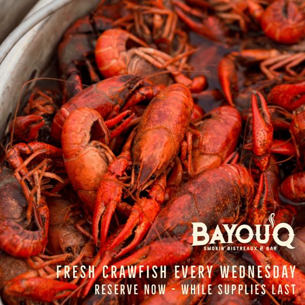 Crawfish Wed's Bayou'Q Roswell