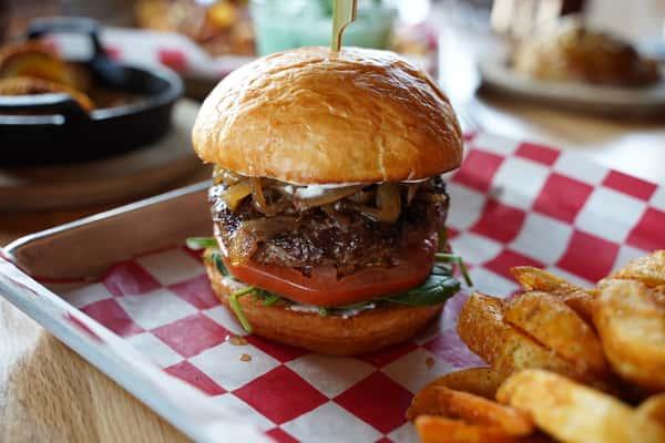 Lamb Burger*