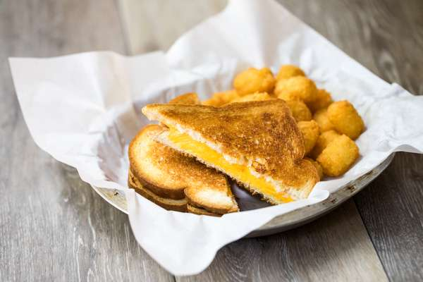 Kid Grilled Cheese