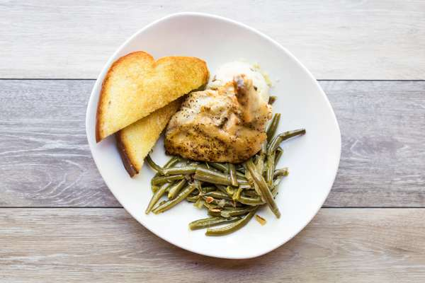 Emily's Pan-Roasted Chicken