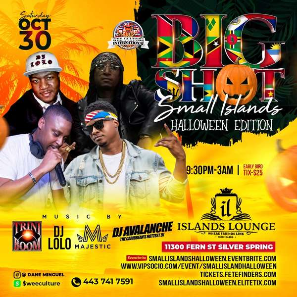 Big Shot Small Islands Halloween