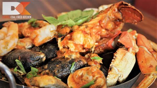 Seafood Cioppino Casserole