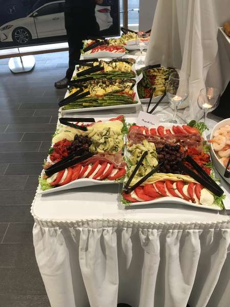End of Catering Table