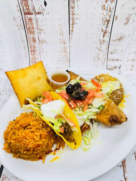 Mexican Combo Platter