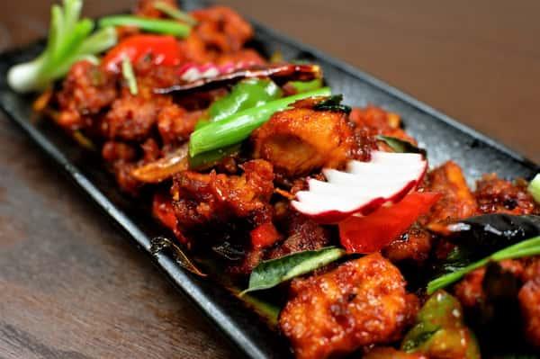 Chilli Chicken (Indo Chinese)