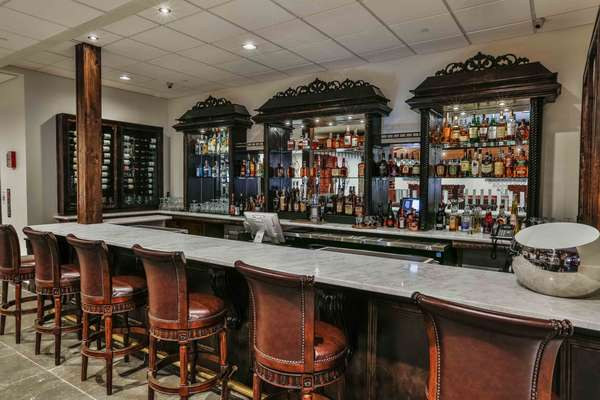 bar downstairs