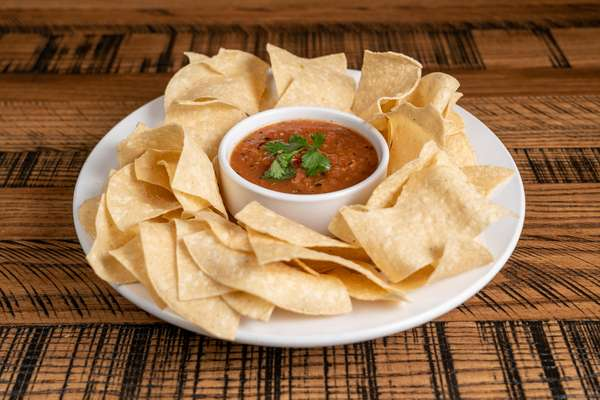 Roasted Salsa & Chips
