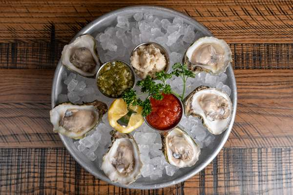 Gulf Coast Oysters on The Half Shell Half Dozen