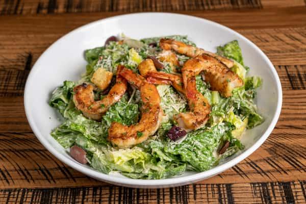 Classic Caesar Salad w Grilled Shrimp