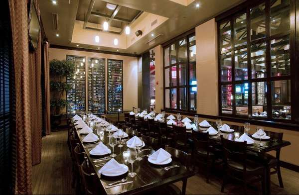 The Rim private dining room