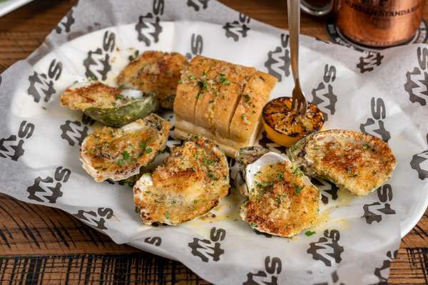"""Louisiana """"Char-Grilled"""" Oysters"""