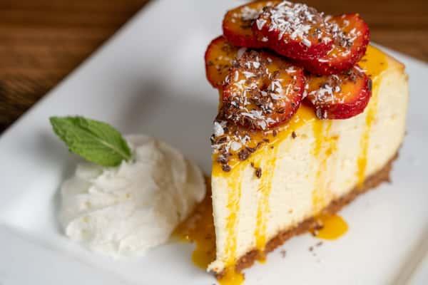 Citrus Grand Marnier Cheesecake