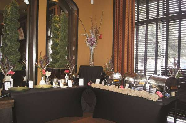 formal catering tables