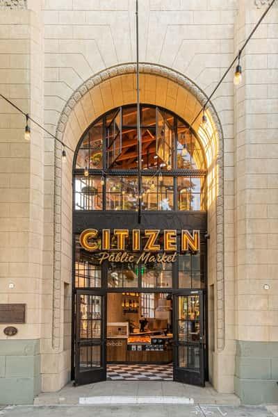 Entrance to Citizen Market