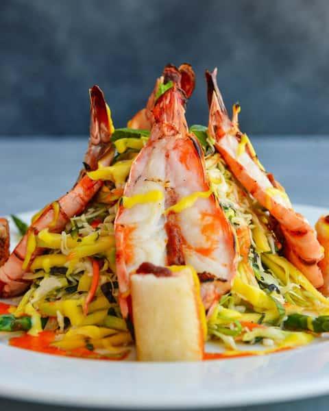 Grilled Prawns & Mango Salad – Gỏi Xoài Tôm Nướng
