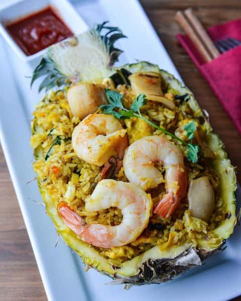Pineapple Fried Rice – Cơm Chiên Thơm