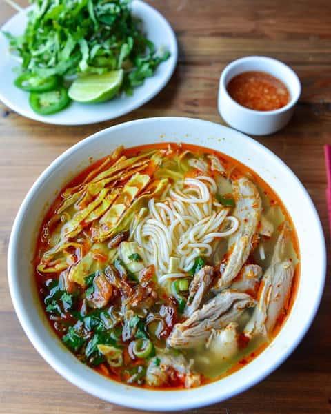 Duck & Bamboo Shoot Noodle Soup – Bún Vịt Xáo Măng