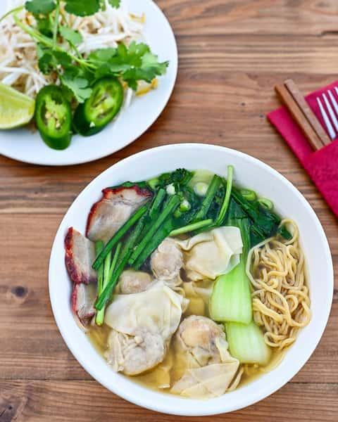 Wonton Noodle Soup – Mì Hoành Thánh Xá Xíu