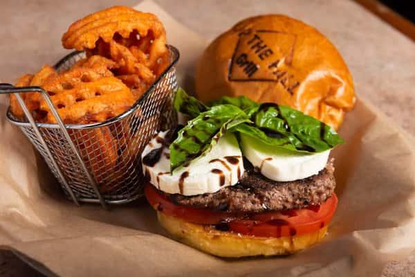 caprese burger