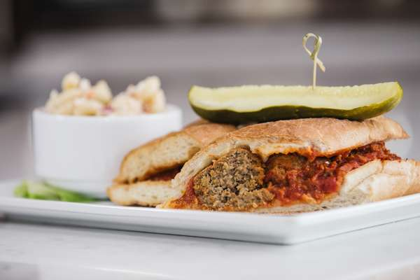 House-Made Meatball Parm