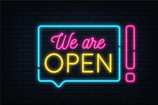We are Open for in store dining!