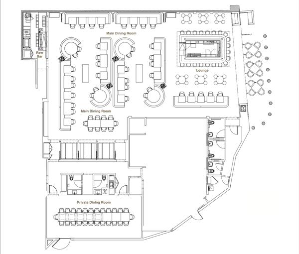 floor plan at the cosmopolitan