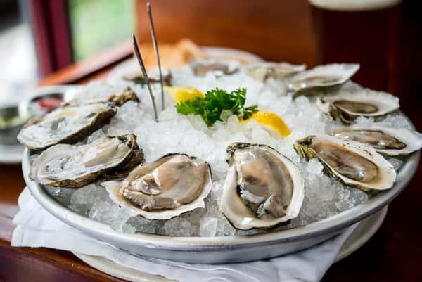 dozen oysters