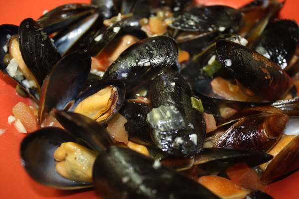 Island Mussels and Clams