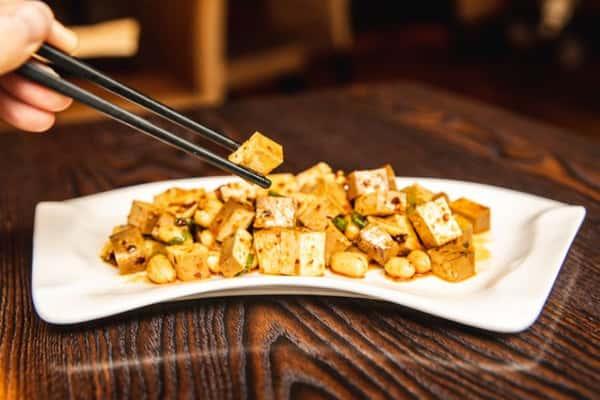 smoky tofu