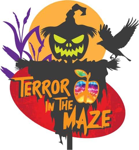 Terror In The Maze Logo
