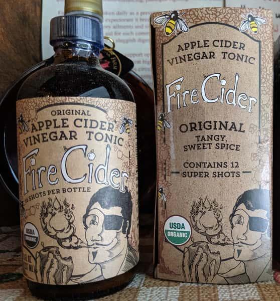 Fire Cider Apple Cider Vinegar Tonic