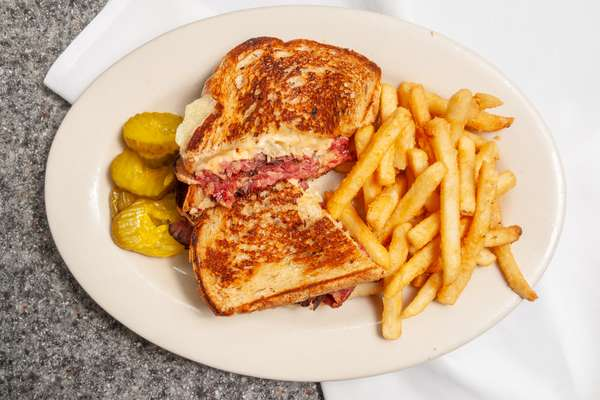 Grilled Pastrami & Swiss