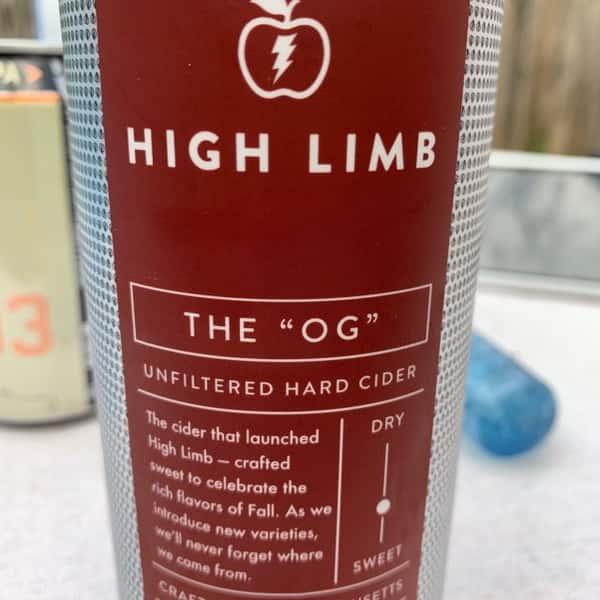 High Limb Cider - Original - Draft (GF)