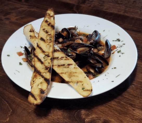 Oliver's Drunken Mussels