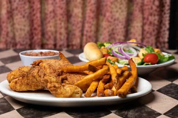 Child's Chicken Strips & Fries
