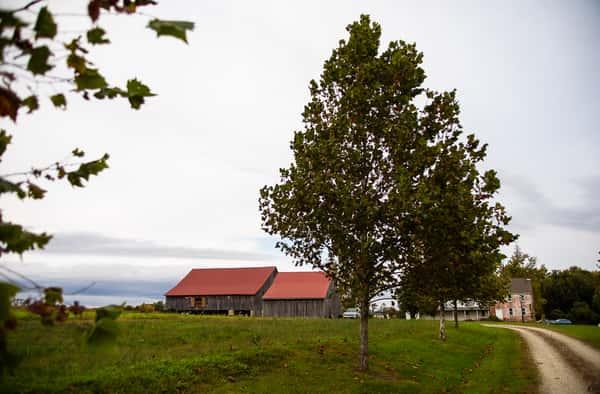 exterior of farm