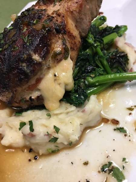 Grilled Thick Pork Chop*