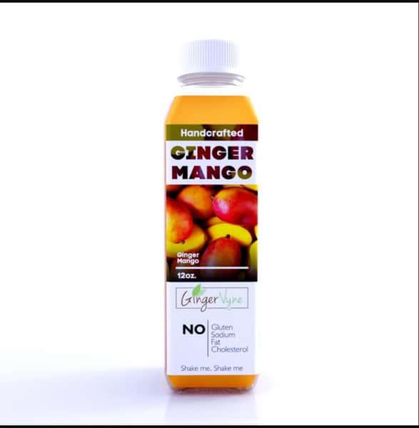 Fresh Ginger Mango Juice