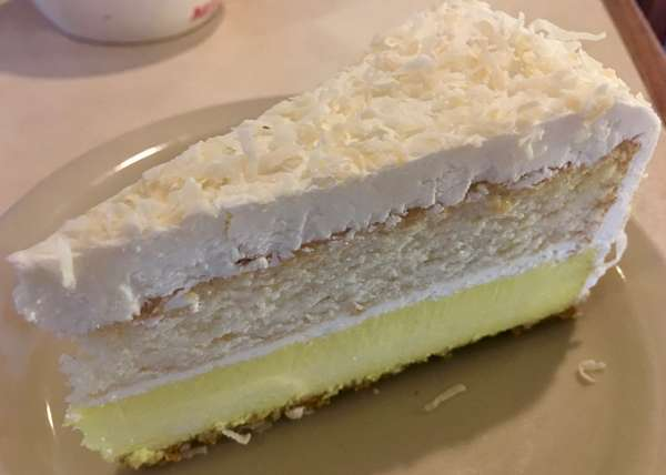 coconut passion fruit lemon cheesecake