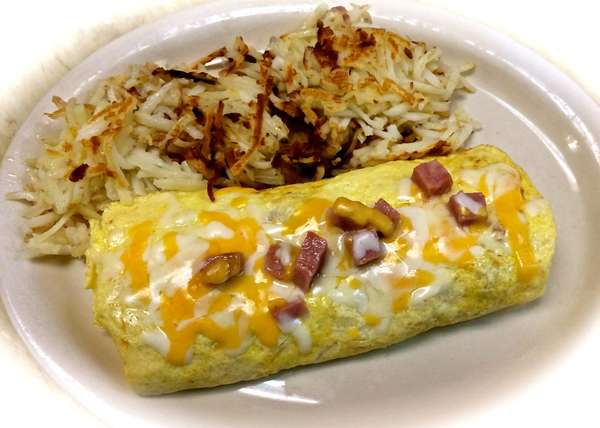 Meat and Cheese Omelette